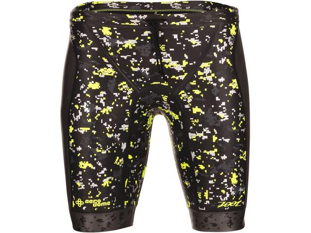 Zoot Wave Buoyancy Shorts Herre black/high-viz-yellow